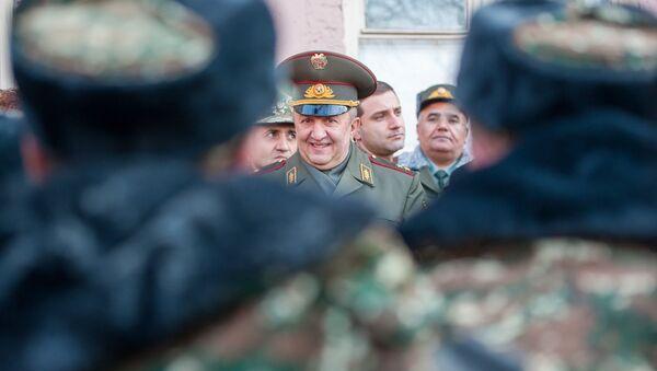Первый день зимнего призыва в армию РА 2018 г. - Sputnik Армения