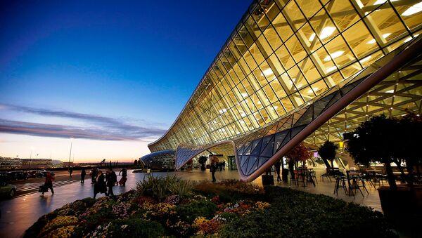 Международный аэропорт Гейдар Алиев. Баку, Азербайджан - Sputnik Армения
