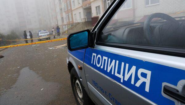 Полицейский автомобиль - Sputnik Արմենիա