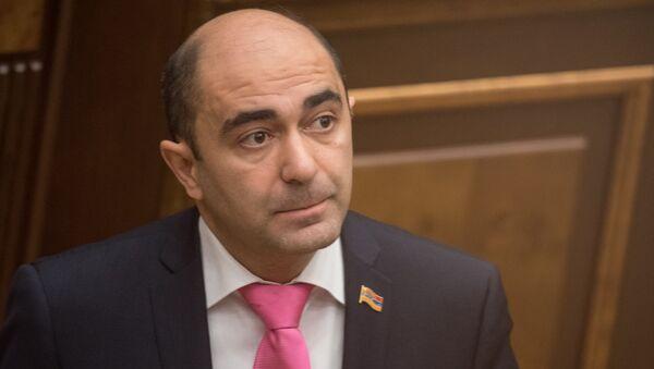 Депутат НС Армении Эдмон Марукян - Sputnik Արմենիա