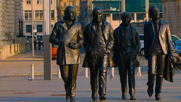 Памятник группе The Beatles в Ливерпуле - Sputnik Армения