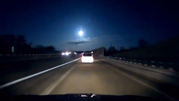 В Мичигане засняли падение метеорита - Sputnik Армения