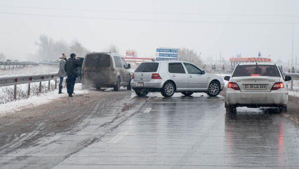 Авария на трассе Ереван - Ванадзор - Sputnik Արմենիա
