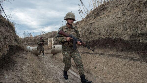 Военнослужащие армии Республики Нагорный Карабах - Sputnik Армения