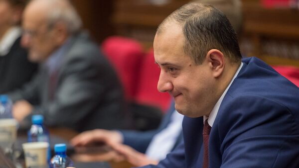 Заседание парламента посвященное взлету цен - Sputnik Արմենիա