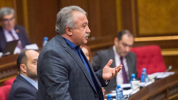 Сасун Микаелян в парламенте - Sputnik Армения