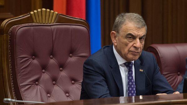 Заседание парламента посвященное взлету цен - Sputnik Армения