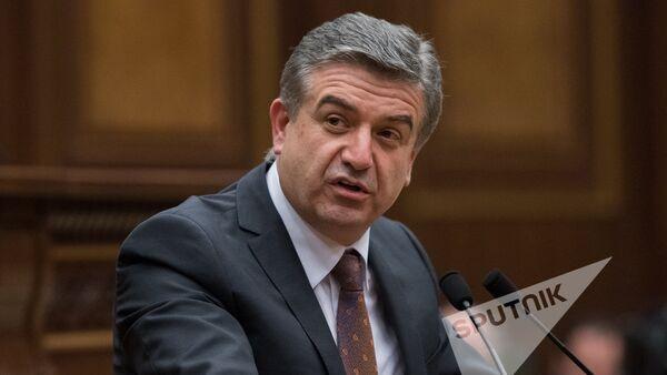 Карен Карапетян. Заседание Национального собрания РА, 08.02.2017 - Sputnik Արմենիա
