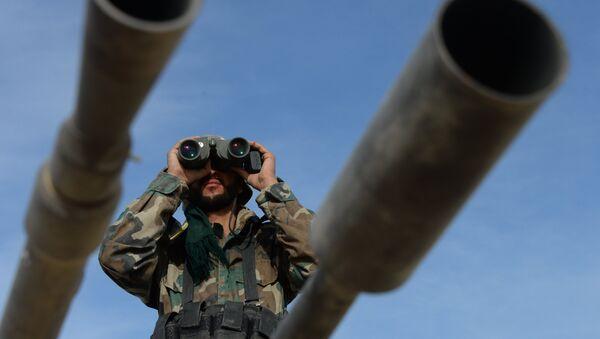 Военнослужащий сирийской армии. Архивное фото. - Sputnik Արմենիա