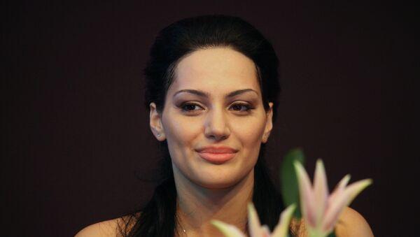 Певица Ева Ривас. Архивное фото - Sputnik Армения