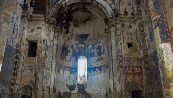Фрески церкви Тигран Оненц в Ани - Sputnik Армения