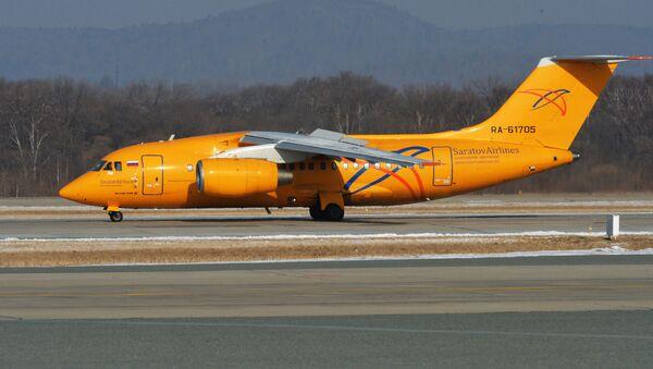 Самолет Ан-148-100В авиакомпании Саратовские авиалинии - Sputnik Արմենիա