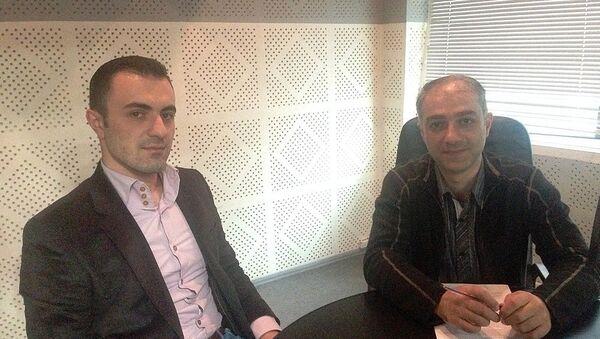 Սարգիս Ասատրյան և Արտակ Մուրադյան - Sputnik Արմենիա