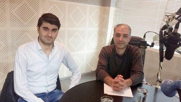 Նարեկ Մինասյան և Արտակ Մուրադյան - Sputnik Արմենիա