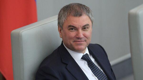 Председатель Государственной Думы РФ Вячеслав Володин - Sputnik Армения