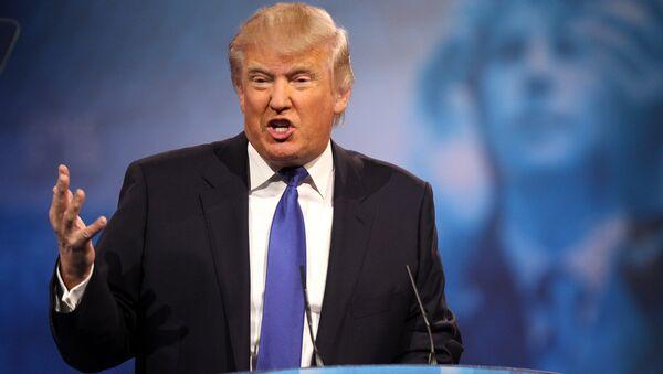 Дональд Трамп во время выступления на Конференции Консервативного Политического Действия /CPAC/ (2013 год). Нэшнл-Харбор, штат Мэриленд, США - Sputnik Армения