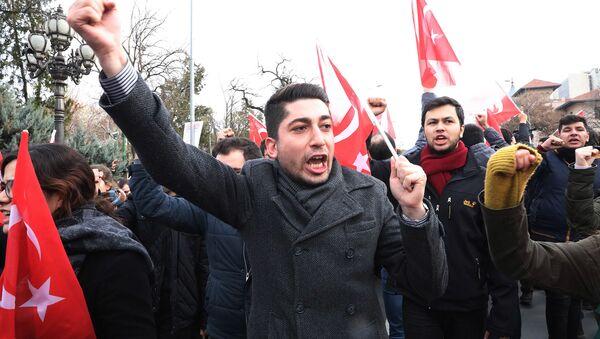 Акция протеста в Анкаре - Sputnik Արմենիա