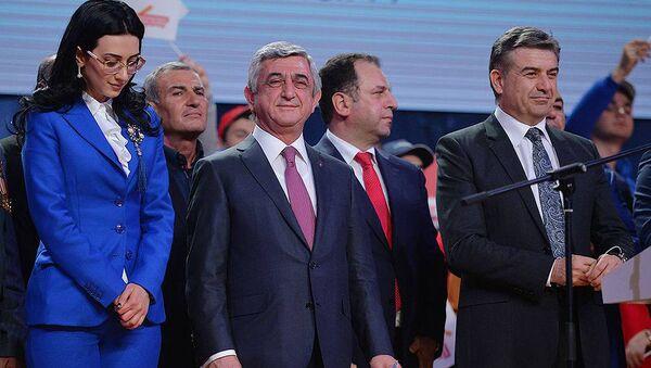 Заключительное предвыборное мероприятие РПА (31 марта 2017). Ереван, Армения - Sputnik Армения