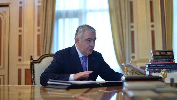 Начальник Управления по управлению государственным имуществом Арман Саакян - Sputnik Արմենիա