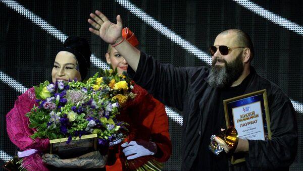 Макс Фадеев и Наргиз на XXII церемони вручения музыкальной премии Золотой Граммофон - Sputnik Армения