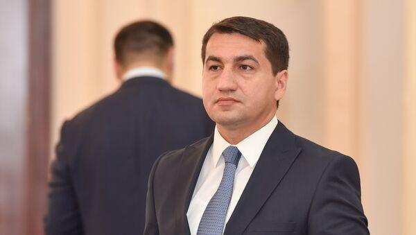 Хикмет Гаджиев, глава пресс-службы МИД Азербайджана  - Sputnik Армения
