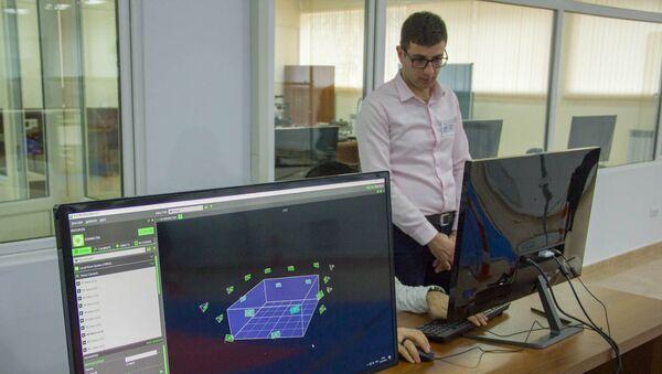 Учебно-исследовательский центр воздушной робототехники при НПУА - Sputnik Армения