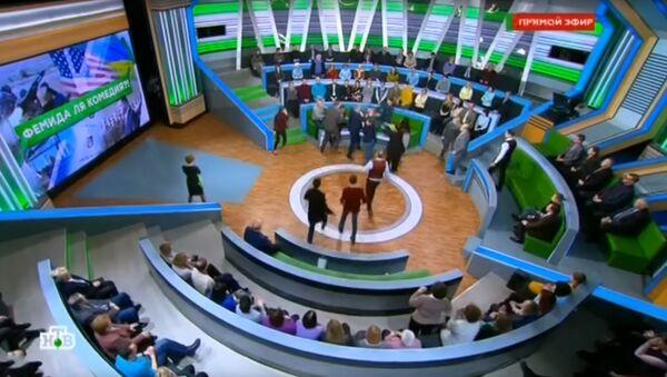 Скандал на телеканале НТВ - Sputnik Армения