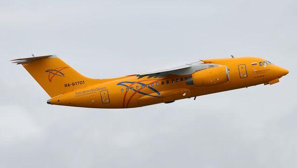 Самолет Ан-148 Саратовские авиалинии - Sputnik Армения