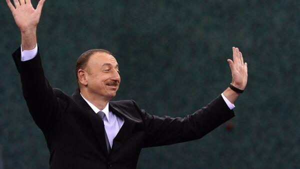 Президент Азербайджана Ильхам Алиев - Sputnik Արմենիա