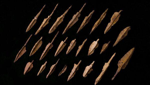 Трехперые наконечники стрел из коллекции Давида Симоняна - Sputnik Армения
