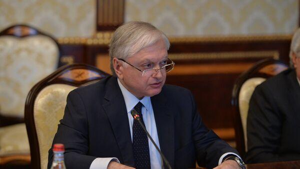 Министр иностранных дел Армении Эдвард Налбандян на заседании Совета безопасности (1 марта 2018). Ереван, Армения - Sputnik Արմենիա