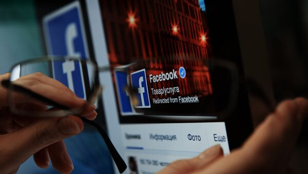 Социальная сеть Фейсбук - Sputnik Армения