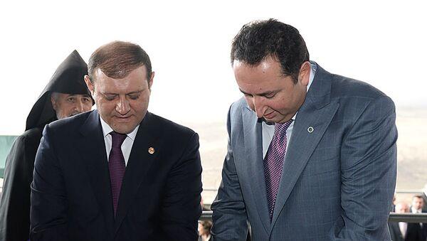 Церемония открытия Ереванского завода медицинских изделий (14 марта 2014). Ереван - Sputnik Արմենիա