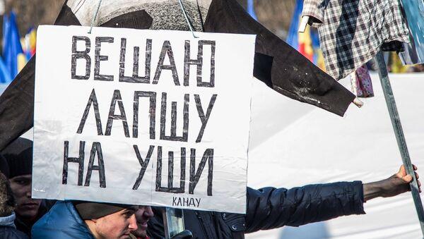Акция протеста в Молдавии - Sputnik Արմենիա