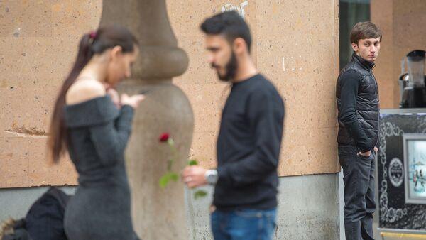 8 Марта на улицах Ереванa - Sputnik Արմենիա