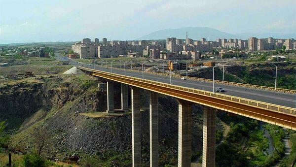 Давиташенский мост. Архивное фото - Sputnik Армения