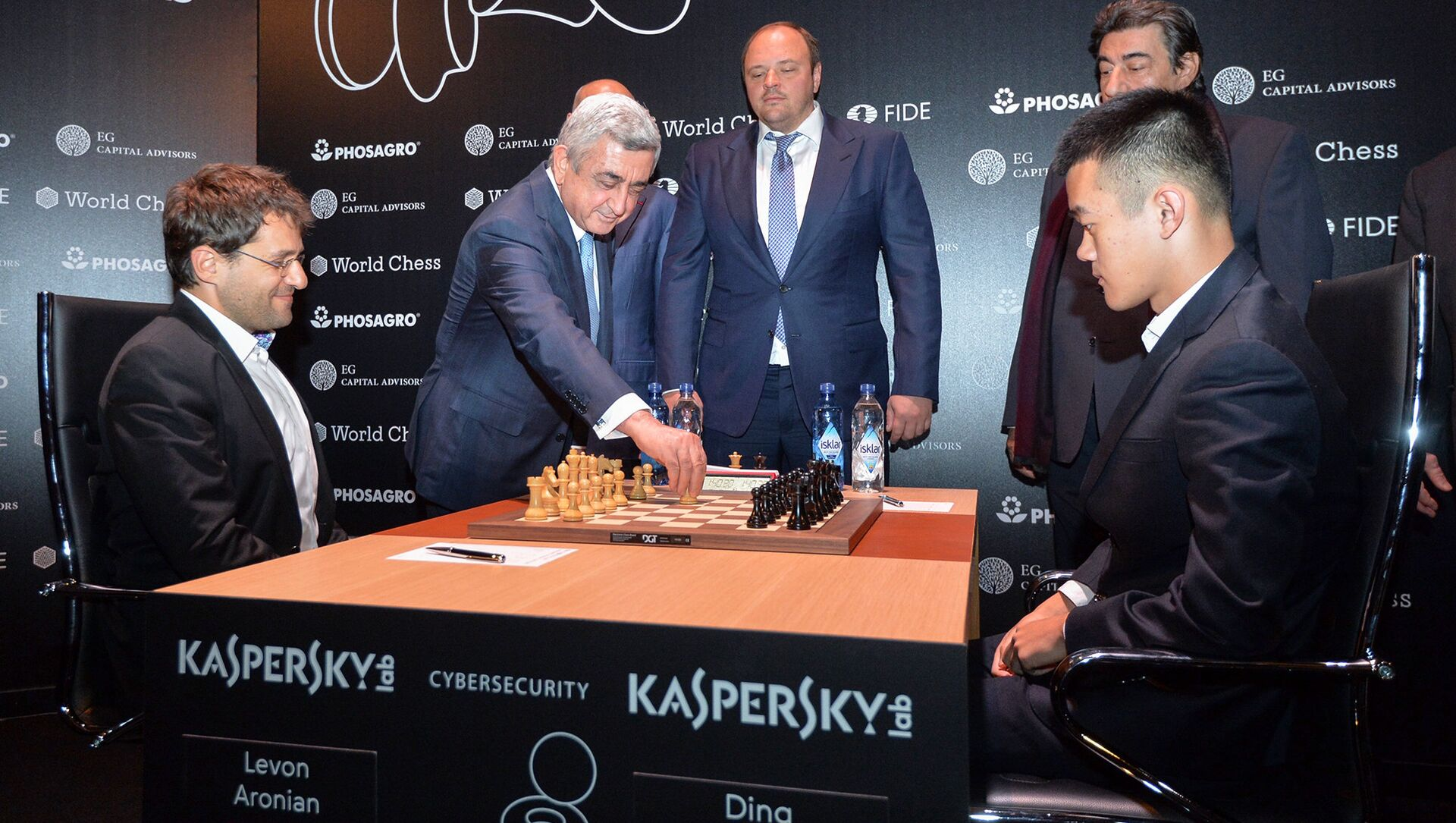 Президент Серж Саргсян на турнире претендентов на звание чемпиона мира по шахматам (10 марта 2018). Берлин, Германия - Sputnik Արմենիա, 1920, 03.03.2021
