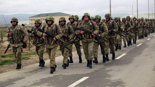 Широкомасштабные военные учения Азербайджанских ВС  - Sputnik Армения