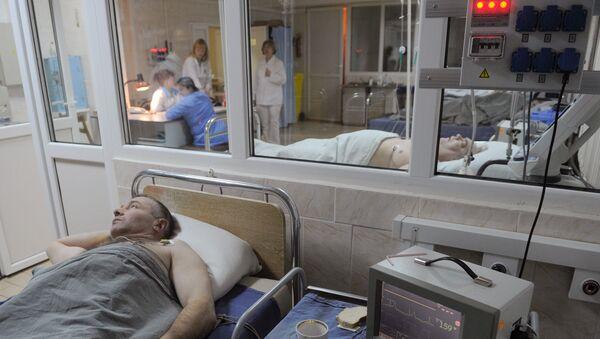 Кардиологическое отделение в больнице. Архивное фото - Sputnik Армения