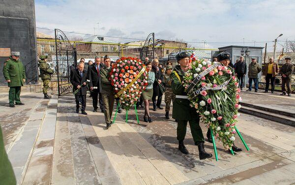 Российская военная база в Гюмри - Sputnik Армения