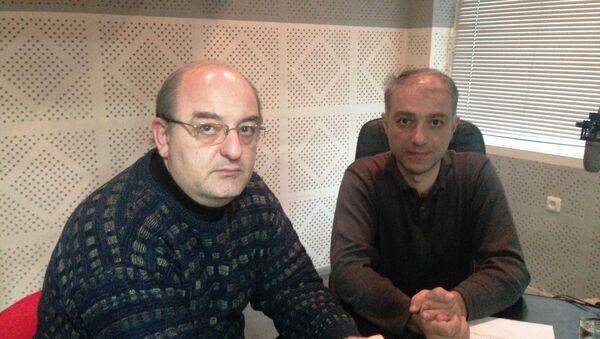 Արմեն Բադալյան և Արտակ Մուրադյան - Sputnik Արմենիա