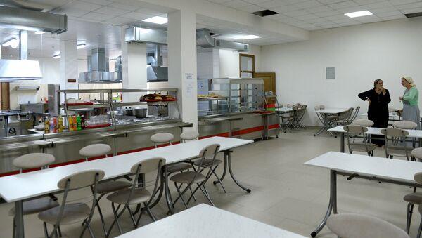 Школьная столовая. Архивное фото - Sputnik Армения