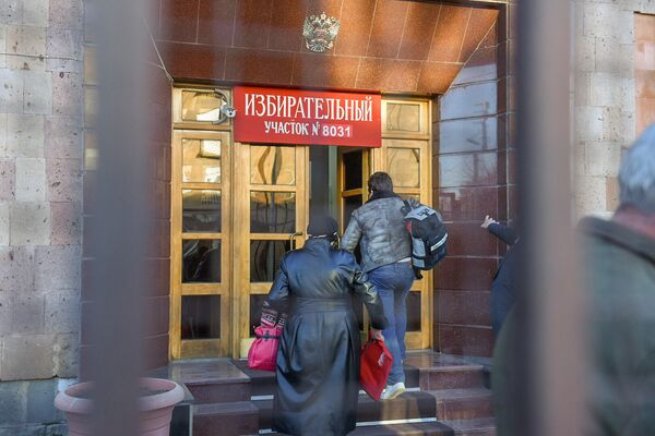 Ընտրական տեղամաս No 8031. Գյումրի - Sputnik Արմենիա