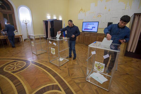 Ընտրական տեղամաս No 8026. Երևան - Sputnik Արմենիա