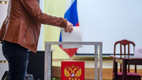 На избирательном участке No8031, Гюмри - Sputnik Արմենիա