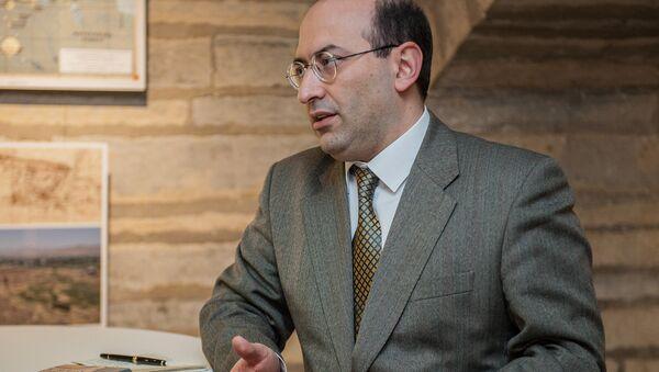 Посол Армении в Балтийских странах Тигран Мкртчян - Sputnik Армения