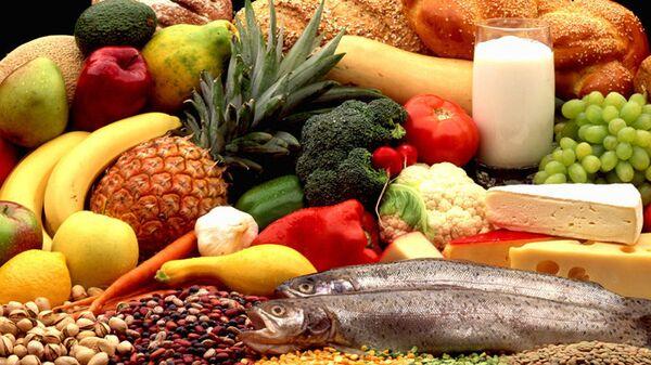 Продовольствие набор продуктов еда продовольственная корзина  - Sputnik Армения