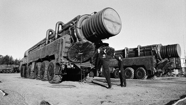 Подготовительные работы перед ликвидацией ракет РСД-10 - Sputnik Արմենիա