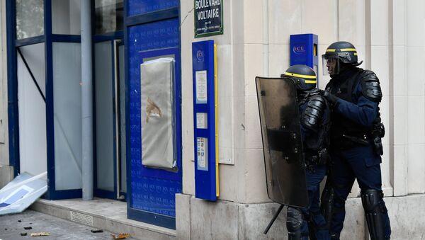 Полиция Франции (архивное фото) - Sputnik Армения