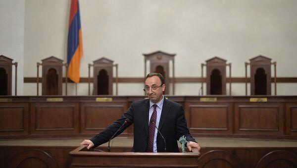 Председатель Конституционного суда Армении Грайр Товмасян - Sputnik Армения